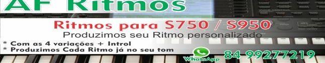 Ritmos Yamaha S750 S950