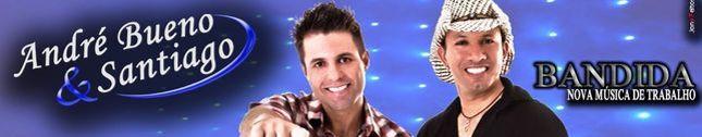 Andre Bueno e Santiago