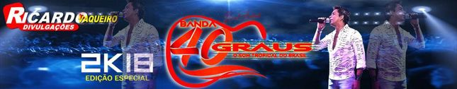 BANDA 40 GRAUS SUCESSO 2013 É SHOW