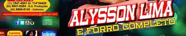 ALYSSON LIMA E FORRO COMPLETO