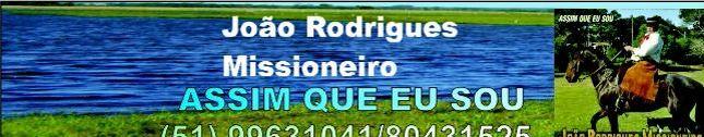 João Rodrigues Missioneiro