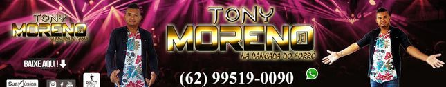 TONYY MORENO NA PANCADA DO FORRO