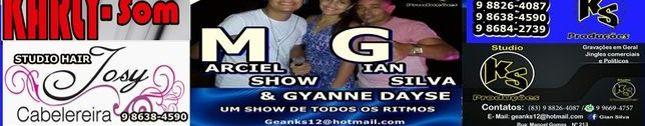 Marciel Show Gian Silva&GyanneDayse
