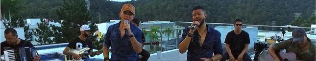 Marcos Villa e Gabriel