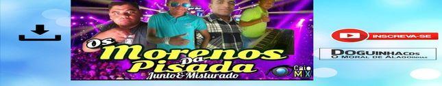 OS MORENOS DA PISADA - CD 2017