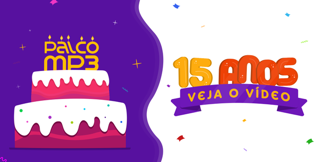 15 anos de Palco MP3 (posição 3)