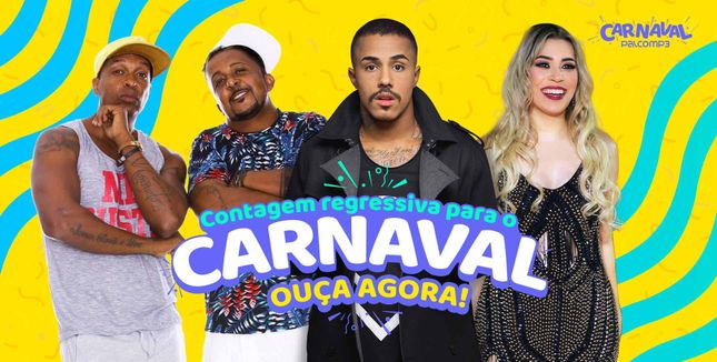 Contagem regressiva para o carnaval