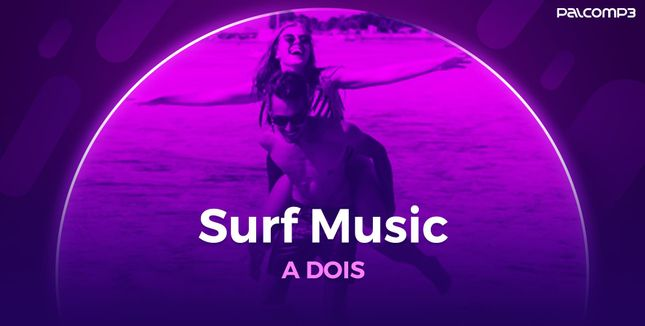 Imagem da playlist Surf music a dois