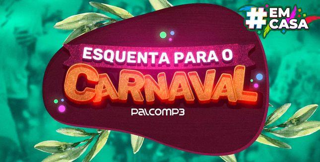 Imagem da playlist Esquenta para o carnaval #EmCasa