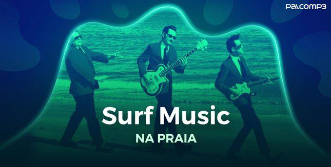 Imagem da playlist Surf music na praia