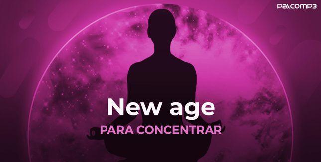 Imagem da playlist New age para concentrar