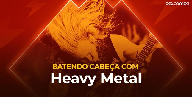 Imagem da playlist Batendo cabeça com heavy metal