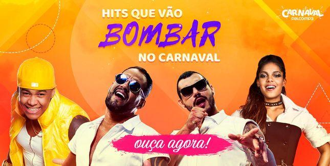 Hits que vão bombar no carnaval