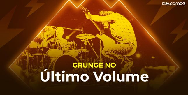Imagem da playlist Grunge no último volume