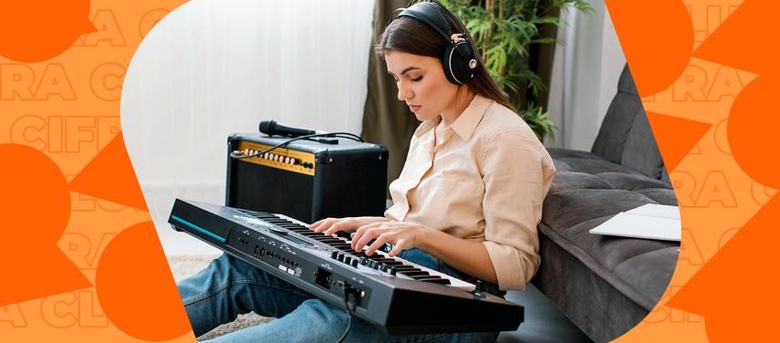 Post em destaque: Teclado para principiantes: descubre cuál es el mejor para aprender a tocar
