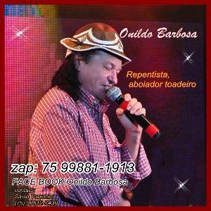 ONILDO BARBOSA FORROZEIRO/ POETA