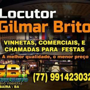 Locutor Gilmar Brito Studio vinhetas