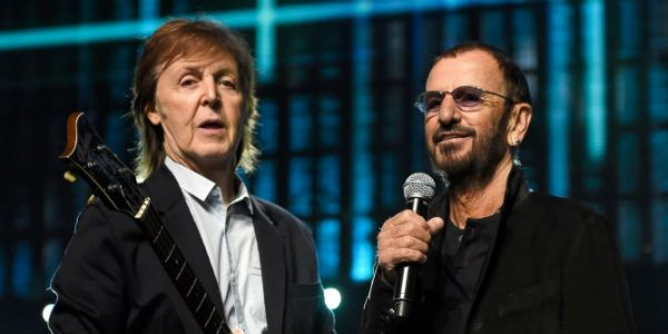Paul e Ringo, remanescentes dos Beatles