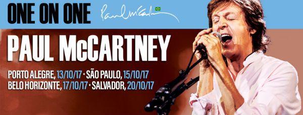 mccartney está a caminho do Brasil