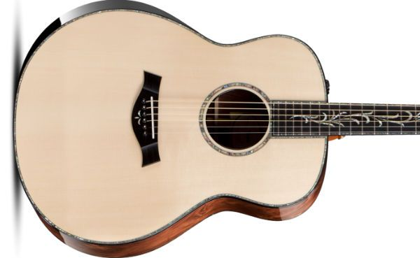 guitarra hecha con madera adirondack spruce