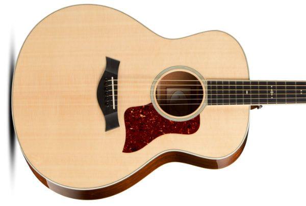 guitarra hecha con madera engelmann spruce