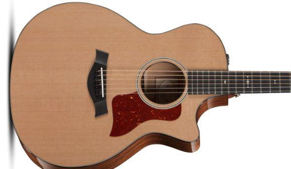 guitarra hecha con cedro