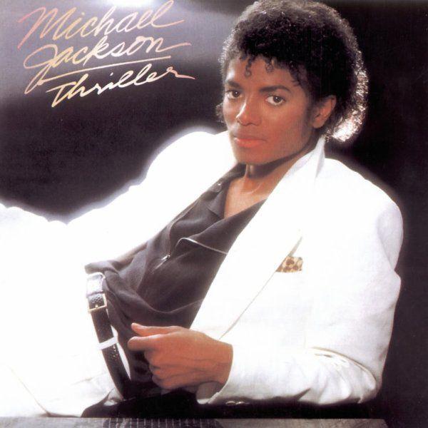 Capa de Thriller, de Michael Jackson, disco clássico da música pop