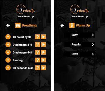 7 Minute Vocal WarmUp, la app ideal para el entrenamiento de vocalistas y locutores