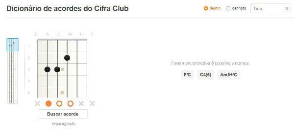 Cifra Club disponibiliza ferramenta interativa