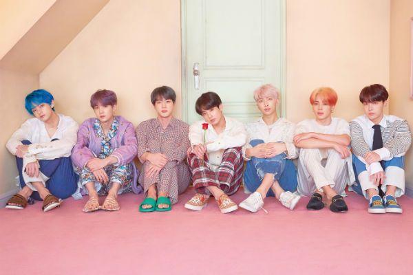BTS é um septeto ícone do K-pop