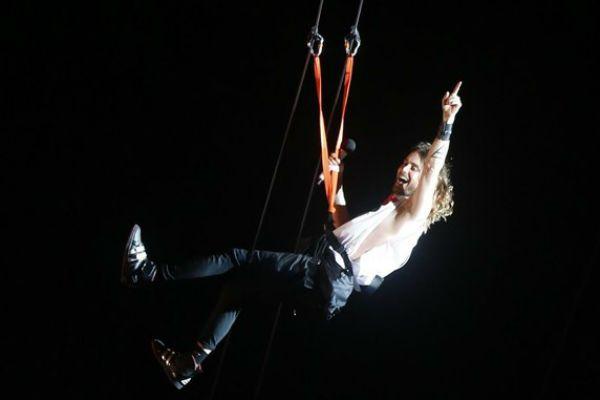 Jared Leto sempre se diverte no Rock In Rio