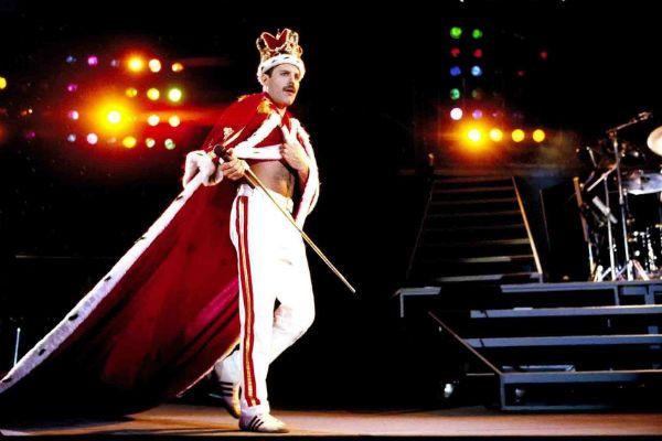 No rock in rio I, Mercury fez jus ao título de realeza
