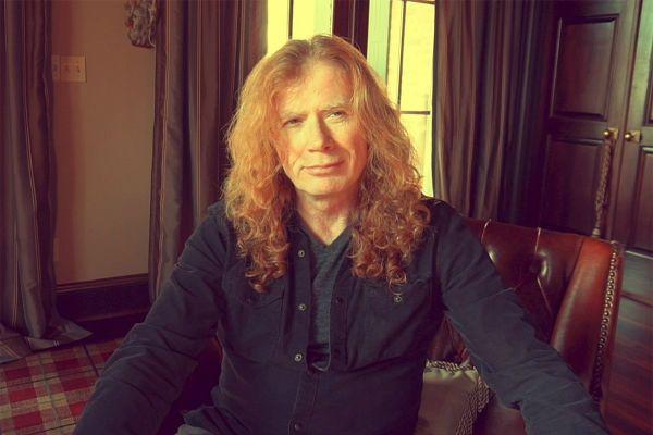 Via Facebook, Dave Mustaine divulgou mensagem sobre doença