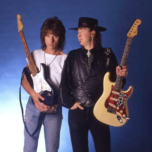 Jeff Beck e Ray Vaughan são ícones da Stratocaster