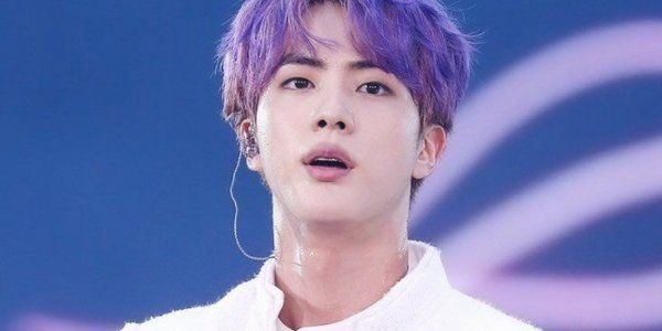 Jin, o integrante mais velho do BTS