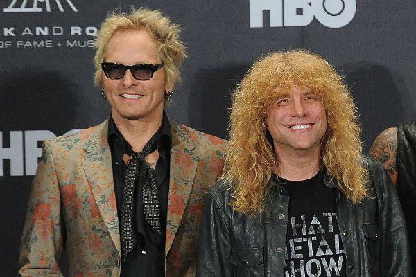 Matt Sorum e Steven Adler, os ex-bateristas do Guns N' Roses