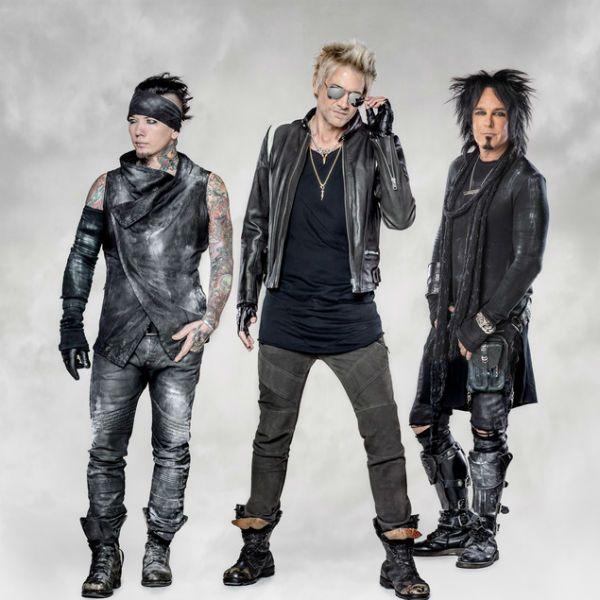 Sixx:A.M., power trio de hard rock
