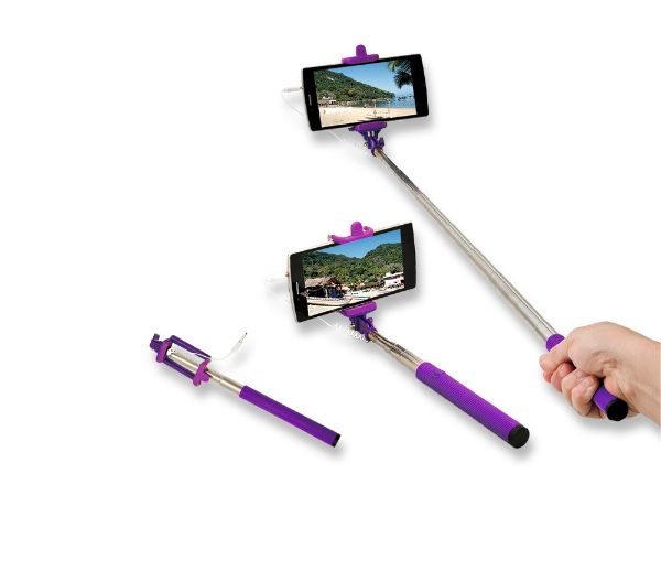Bastão de selfie não pode ser levado para grandes eventos