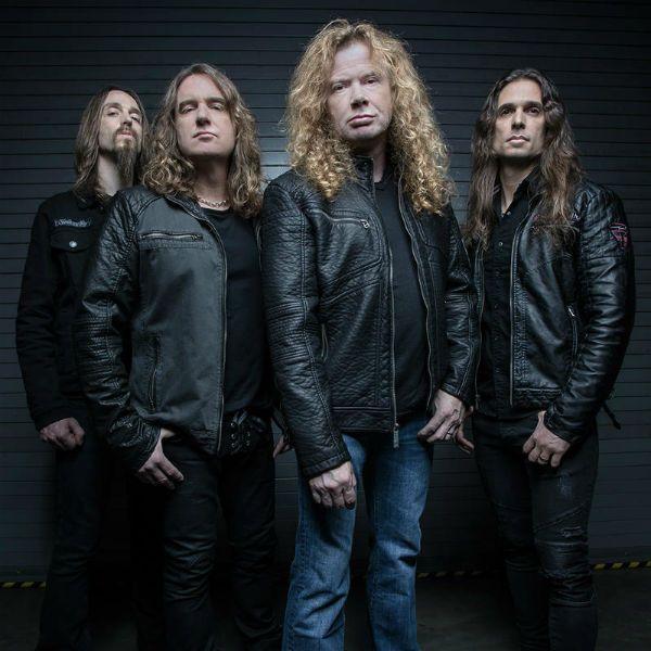 Banda Megadeth lida com doença de seu líder, Dave Mustaine
