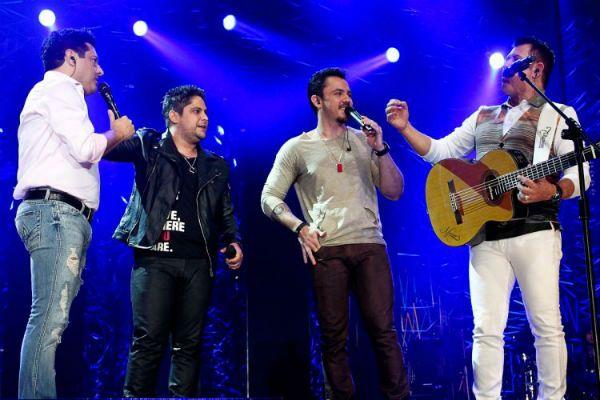 Bruno, Jorge, Mateus e Marrone fazem encontro  de gerações da música sertaneja