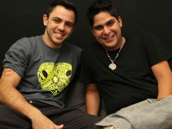 A dupla Jorge e Mateus em algum momento da década de 2010
