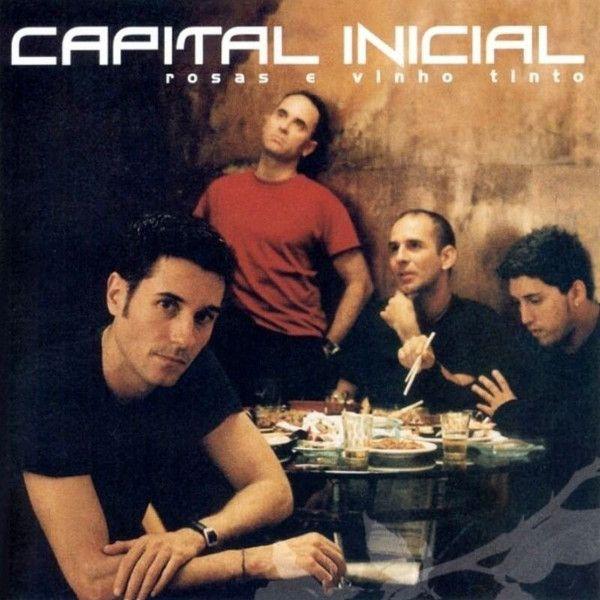 Capa do disco Rosas e Vinho Tinto, da banda Capital Inicial