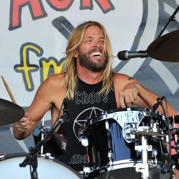 Taylor Hawkins, baterista do Foo Fighters desde 1997