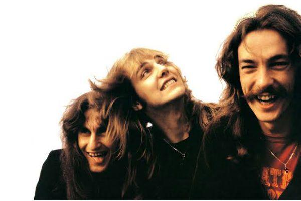 O trio Rush no começo da era Neil Peart