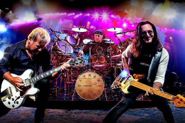 Rush, power trio de rock progressivo