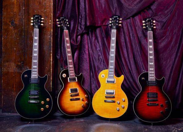 Guitarras da Slash Collection, by Gibson