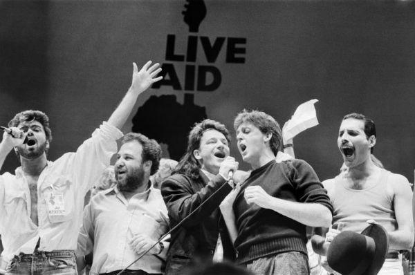 George Michael, Bono, <a class=