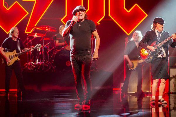 Membros do AC/DC gravam clipe de novo single