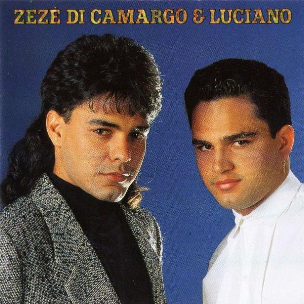Capa do terceiro disco da dupla Zezé di Camargo e Luciano
