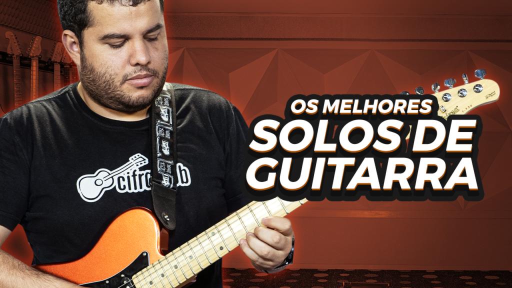 Vinícius Dias ensina t ensina a tocar os melhores solos de guitarra